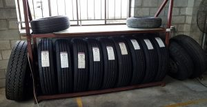 Some of our tyre stock